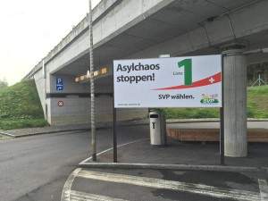 Schweizer Wahlwerbung