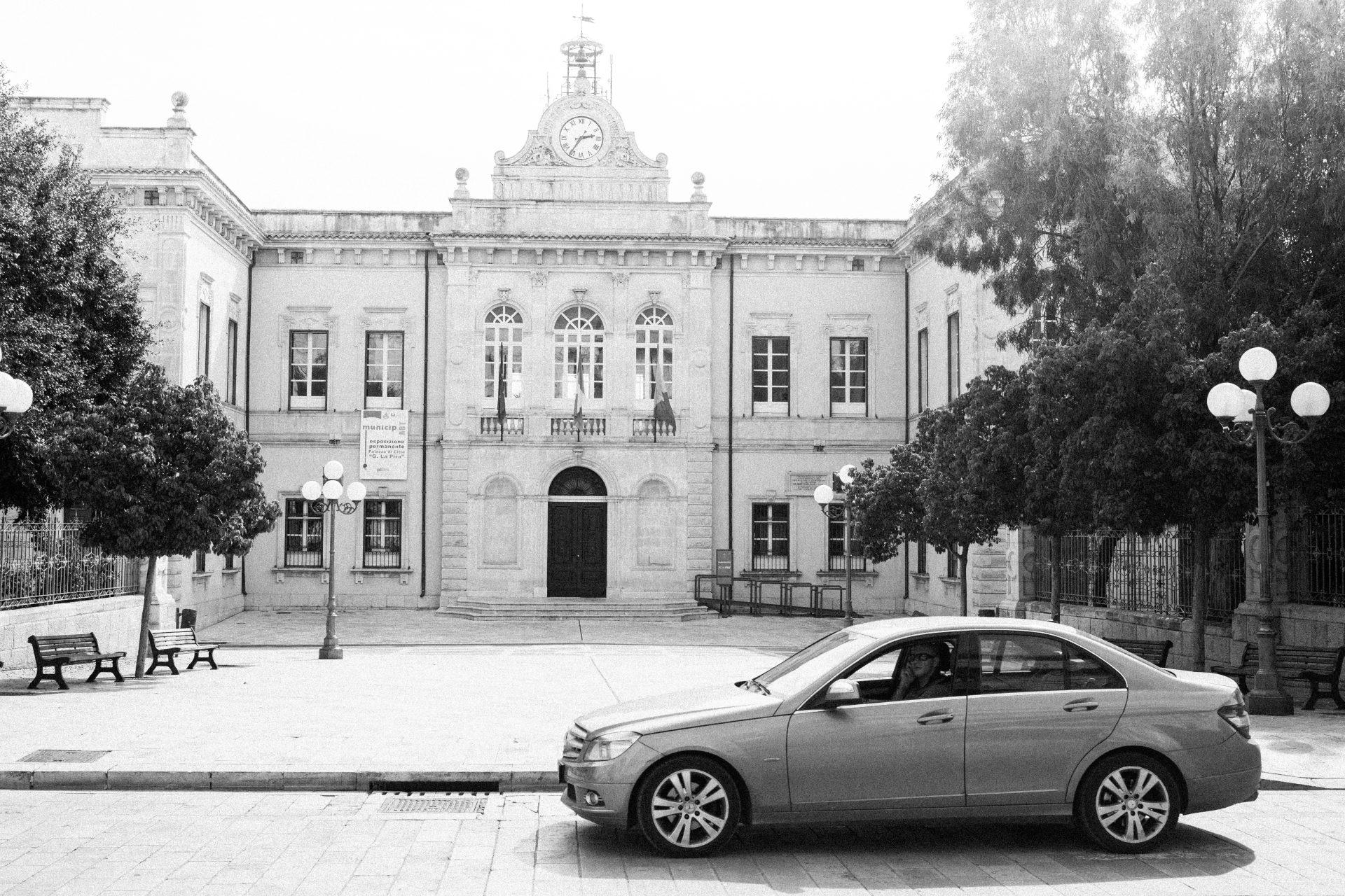 Das Rathaus von Pozzallo